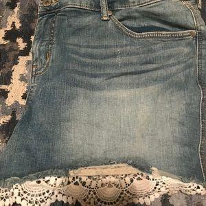 Size 24 Torrid shorts